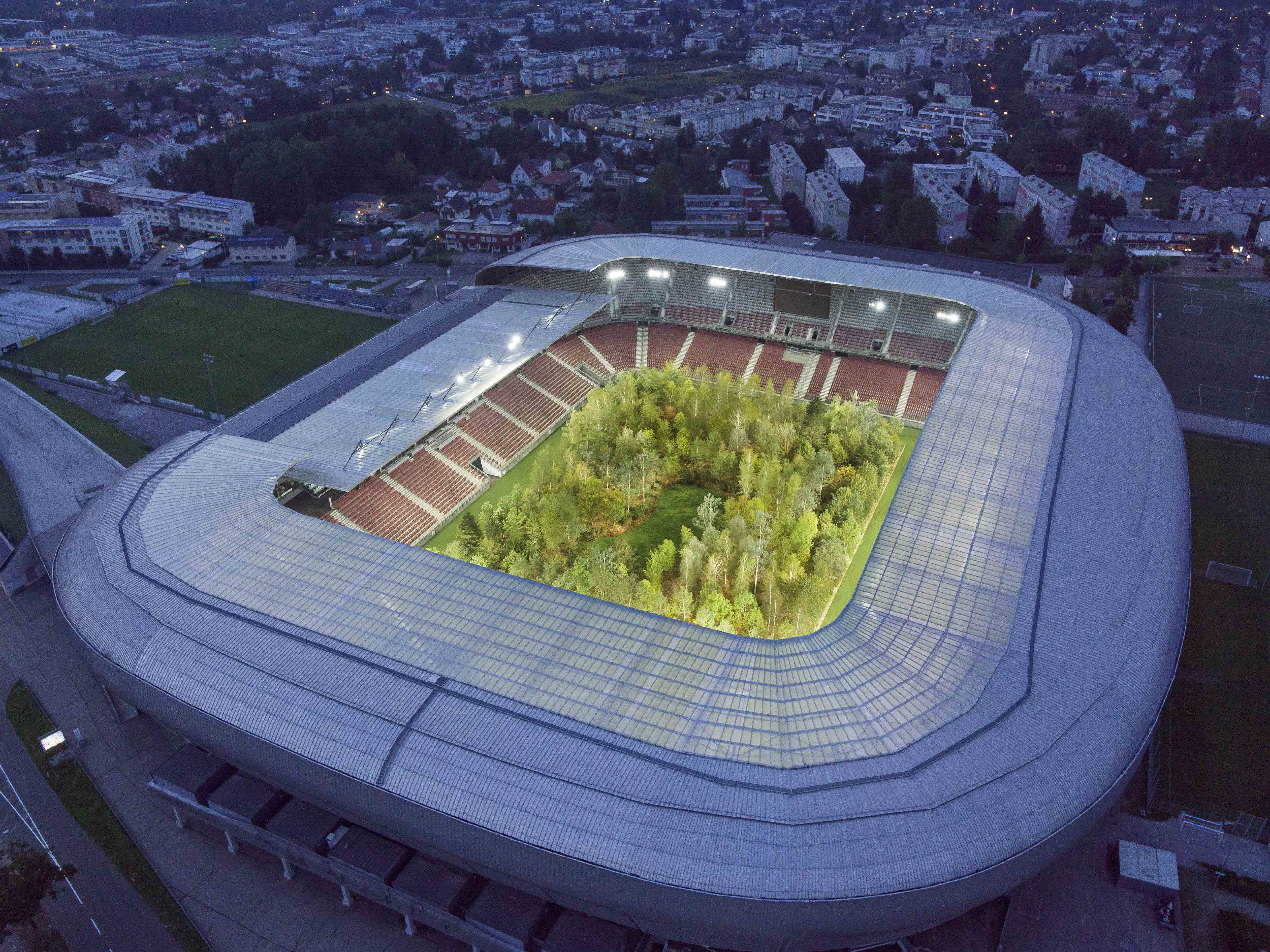Klaus Littmann For Forest The Unending Attraction Of Nature Wörthersee Stadium Klagenfurt © Unimo 4
